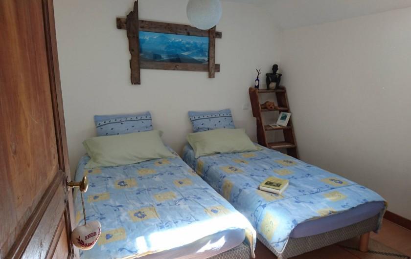 Location de vacances - Maison - Villa à Viserny - 2eme chambre version 2 lits