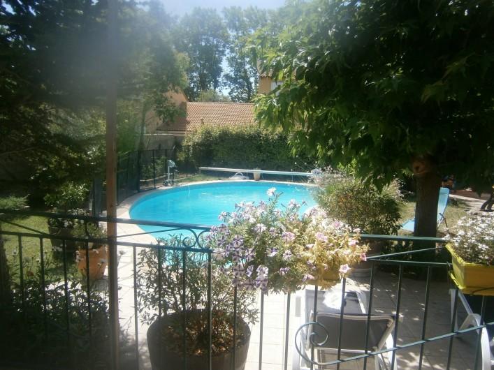 Location de vacances - Villa à Saint-Paul-et-Valmalle - piscine