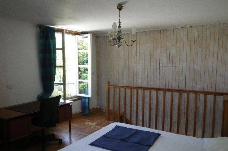 Location de vacances - Appartement à La Rochelle - chambreà l' étage, lit 160*200cm séparable.