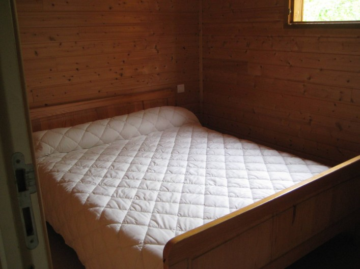 Location de vacances - Chalet à Le Malzieu-Ville - 1 chambre :  1 lit 2 places