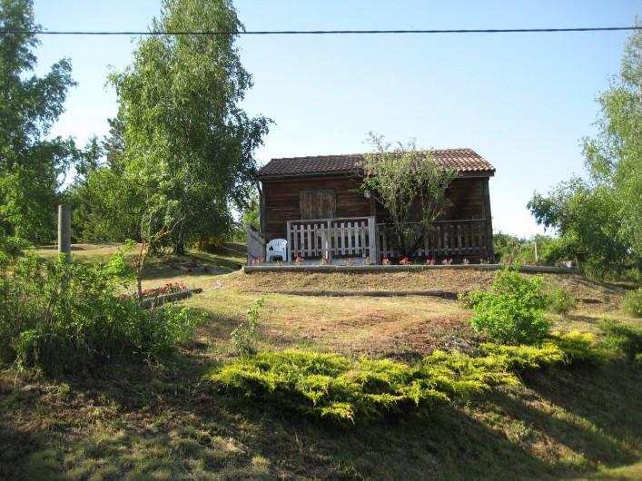 Location de vacances - Chalet à Le Malzieu-Ville - Au calme, à côté Viaferrata pour l'escalade.