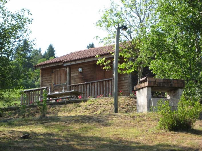 Location de vacances - Chalet à Le Malzieu-Ville - Promenades, pêche, piscine minicipale à proximité.