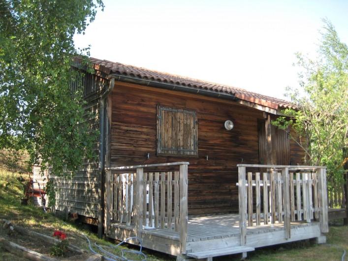 Location de vacances - Chalet à Le Malzieu-Ville - Chalets avec terrasse.