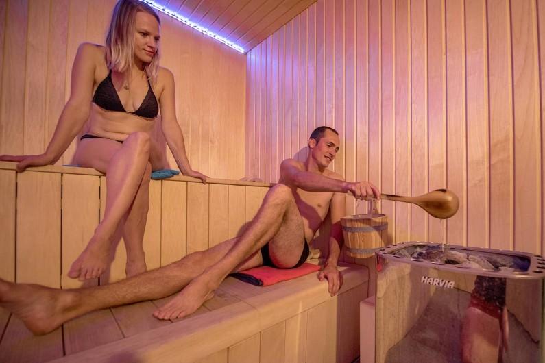 Location de vacances - Camping à Brem-sur-Mer - Sauna et hammam en accès libre