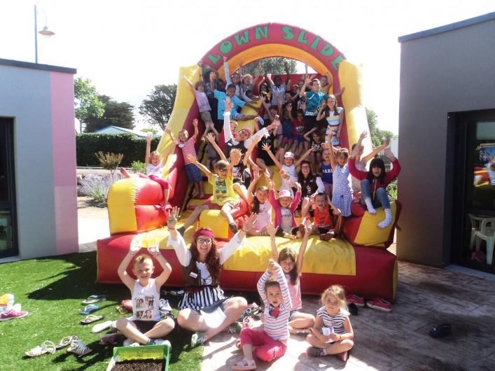 Location de vacances - Camping à Brem-sur-Mer - Clubs enfants en vacances scolaires, juillet et août