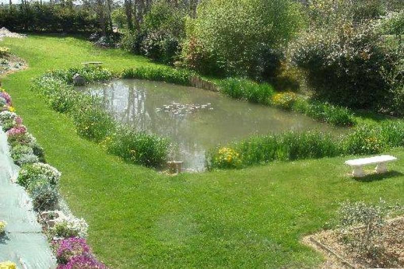 Location de vacances - Gîte à Arromanches-les-Bains - L'étang