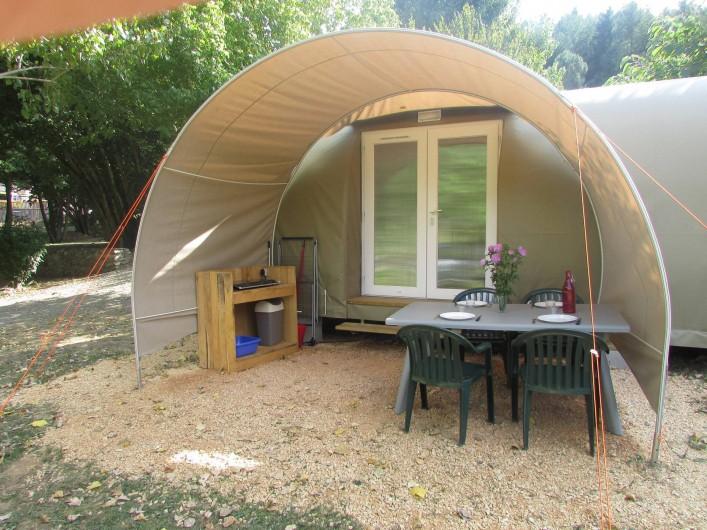 Location de vacances - Camping à Moissac-Vallée-Française