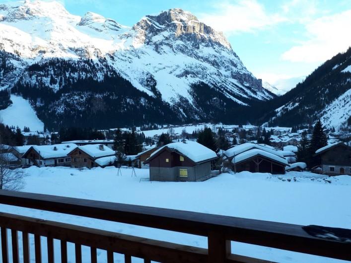 Location de vacances - Chalet à Pralognan-la-Vanoise - Vue en hiver