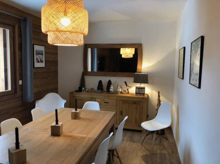 Location de vacances - Chalet à Pralognan-la-Vanoise - Salle à manger