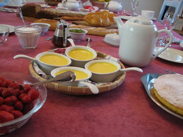 Location de vacances - Chambre d'hôtes à Velluire - Petits déjeuners gourmands