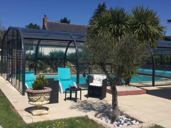 Location de vacances - Villa à Plouhinec - Piscine couverte