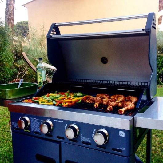 Location de vacances - Villa à Gassin - Barbecue/plancha