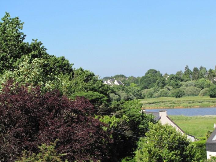 Location de vacances - Gîte à Baden - Vue sur l'étang du Golf