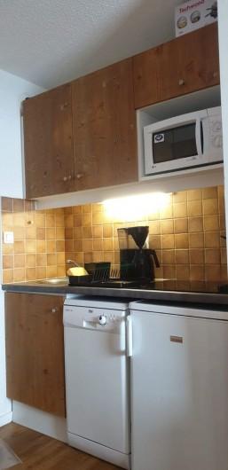 Location de vacances - Appartement à Mâcot-la-Plagne - Coin cuisine