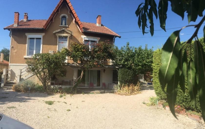 Location de vacances - Appartement à Carpentras - entrée