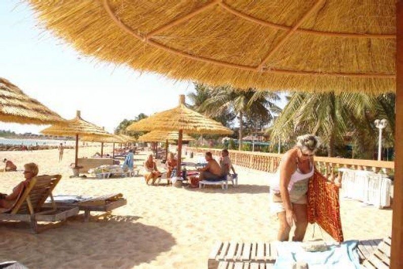 Location de vacances - Villa à Saly - PLAGE DE SAFARI VILLAGE