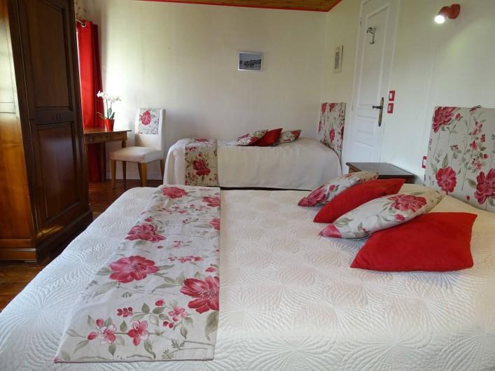 Location de vacances - Chambre d'hôtes à Bréville-les-Monts - chambre Côte Fleurie