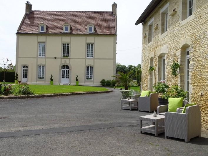 Location de vacances - Chambre d'hôtes à Bréville-les-Monts - La maison de Gabriel