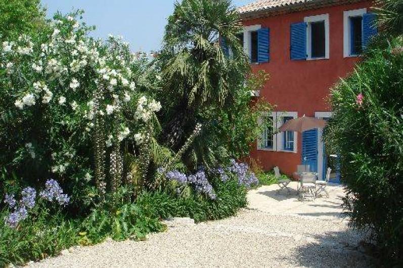Location de vacances - Villa à Juan les Pins - Jardin