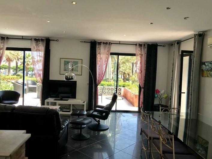Location de vacances - Villa à Juan les Pins - Séjour