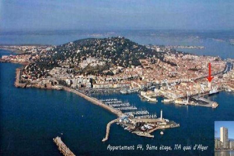 Location de vacances - Appartement à Sète - emplacement loin du trafique