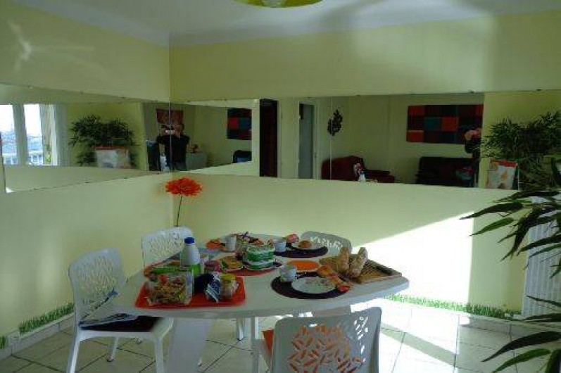 Location de vacances - Appartement à Sète - Repas