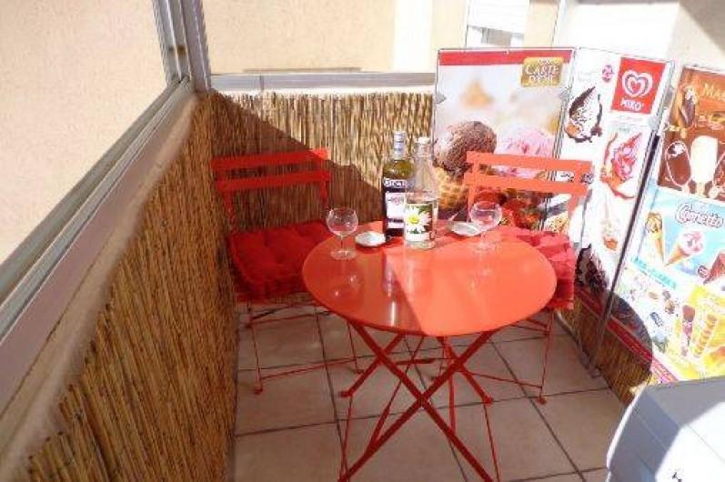 Location de vacances - Appartement à Sète - Loggia côté St Clair