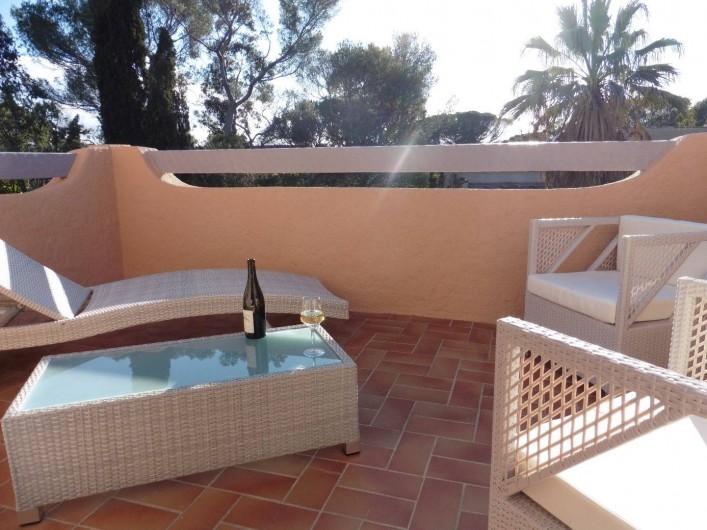 Location de vacances - Villa à Saint-Raphaël - Solarium
