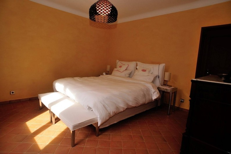 Location de vacances - Villa à Saint-Raphaël - Chambre parentale