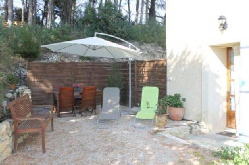 Location de vacances - Appartement à Beaumes-de-Venise