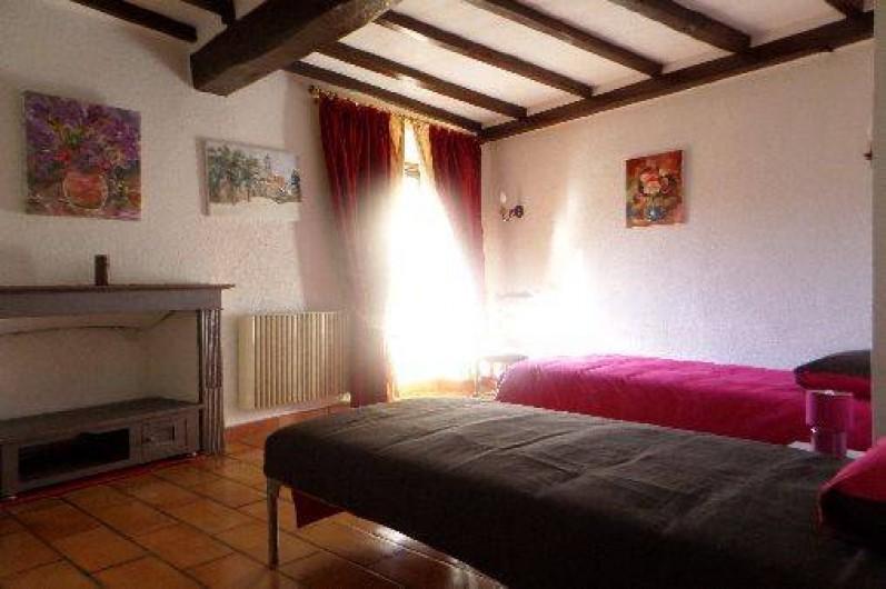 Location de vacances - Maison - Villa à Oletta - Chambre n°5  orienté sud niveau un
