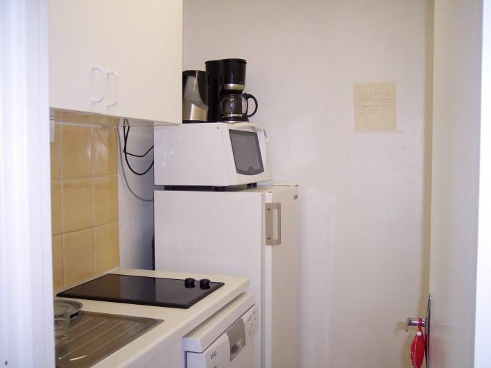 Location de vacances - Appartement à Courchevel 1650 (Moriond) - Cuisine