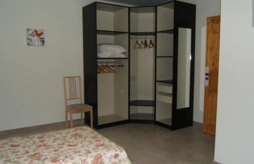 Location de vacances - Gîte à Argenteuil-sur-Armançon - Dressing chambre N° 2
