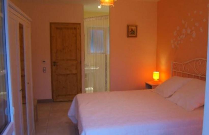 Location de vacances - Gîte à Argenteuil-sur-Armançon - Chambre parentale avec WC indépendant