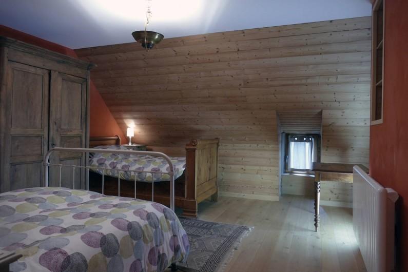Location de vacances - Mas à Lavigerie - Grande chambre (2 ème étage)