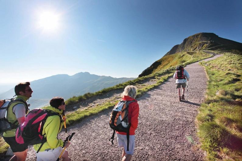 Location de vacances - Gîte à Lavigerie - Le grand site du Puy Mary