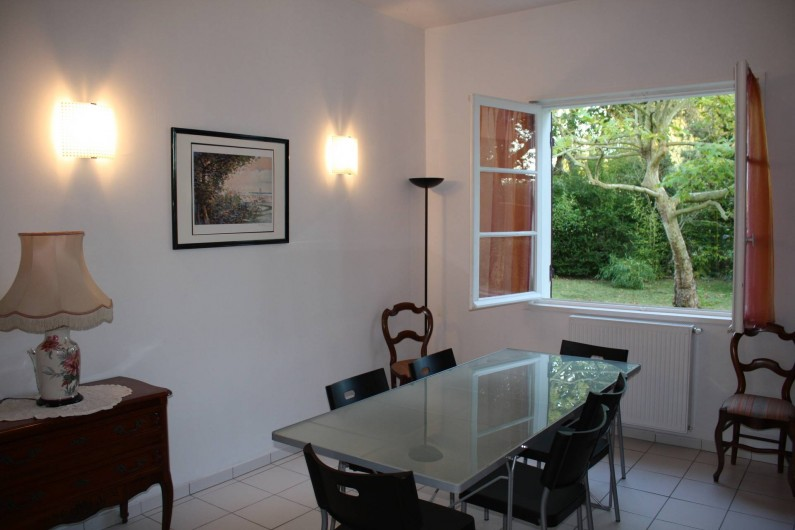 Location de vacances - Villa à Andernos-les-Bains - Salle à manger