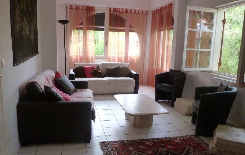 Location de vacances - Villa à Andernos-les-Bains - Salon