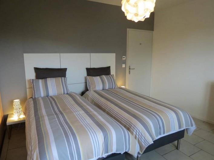 Location de vacances - Maison - Villa à Paris-l'Hôpital - Chambre à deux lits