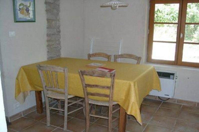 Location de vacances - Gîte à Goult - Coin repas