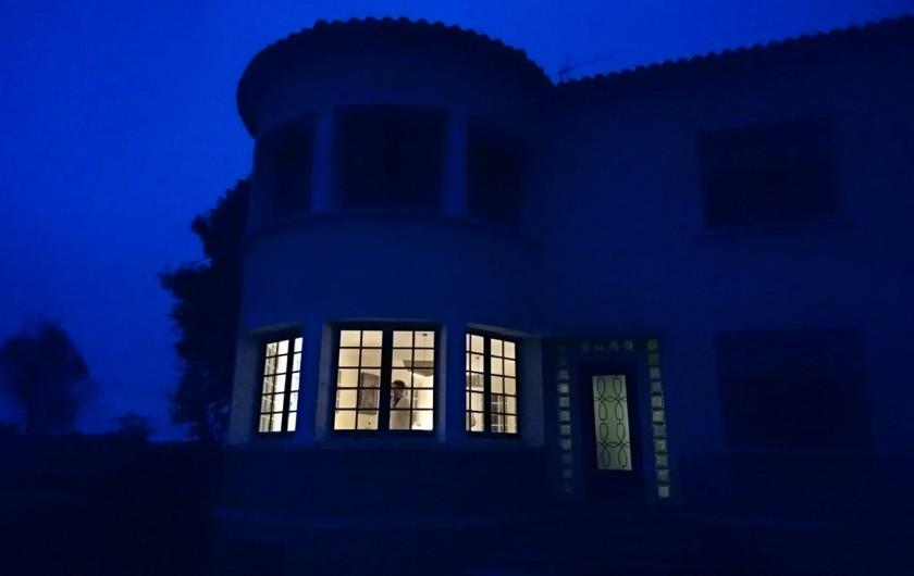 Location de vacances - Villa à Royan - la villa de nuit