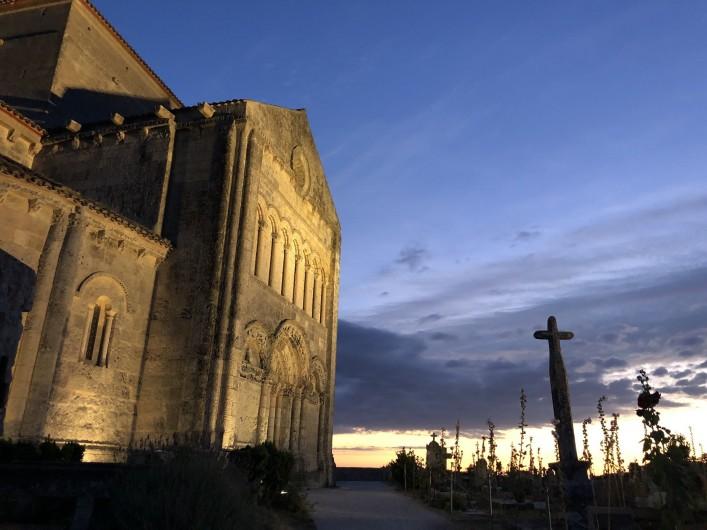 Location de vacances - Villa à Royan - l'église de Talmont sur Gironde