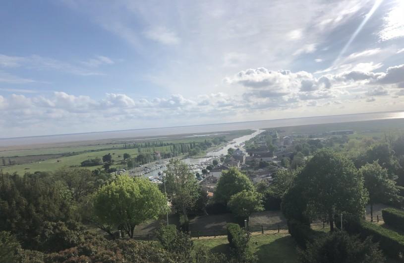 Location de vacances - Villa à Royan - vue de Mortagne sur Gironde