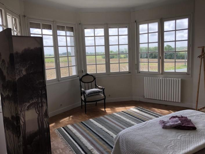 Location de vacances - Villa à Royan - La chambre principale