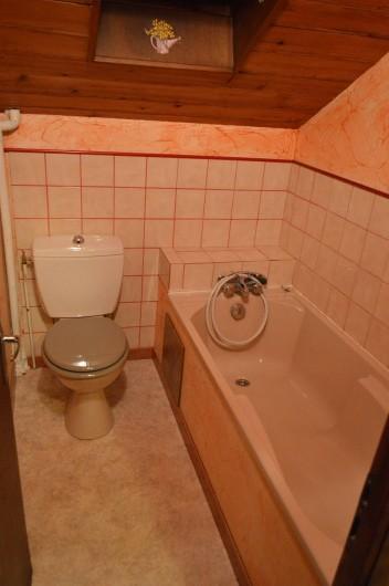 Location de vacances - Chalet à Le Grand Valtin - Cabinet de toilettes étage