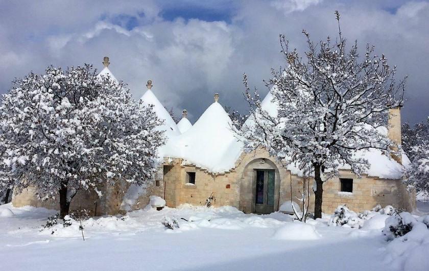 Location de vacances - Maison - Villa à Cisternino - Il Trullo en hiver