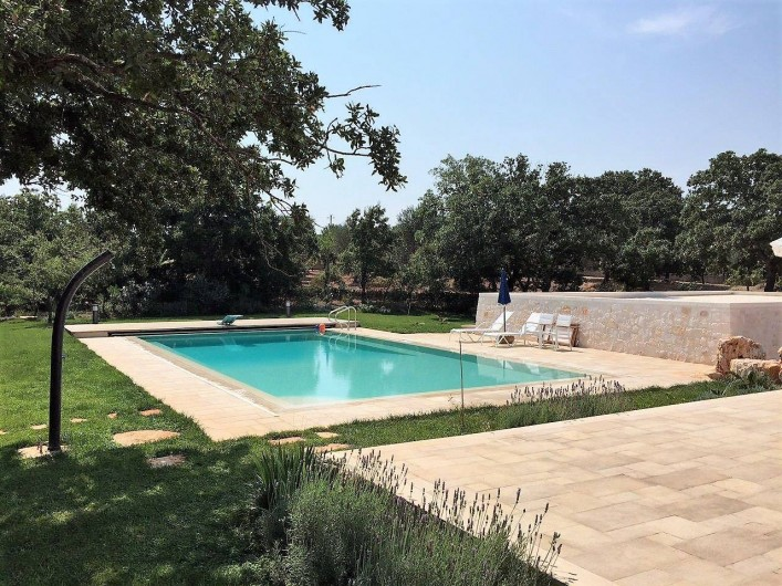 Location de vacances - Maison - Villa à Cisternino - Piscine avec eau salée