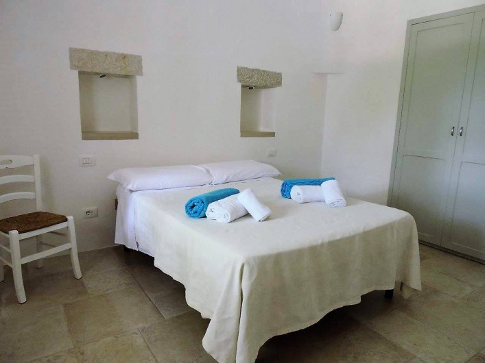 Location de vacances - Maison - Villa à Cisternino - un lit con double