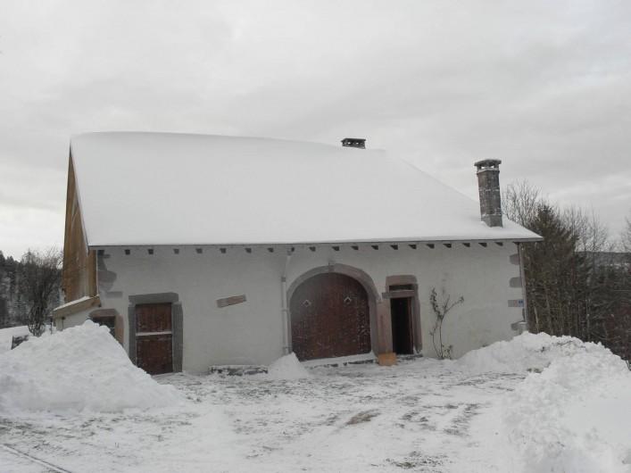 Location de vacances - Maison - Villa à Thiéfosse - En hiver