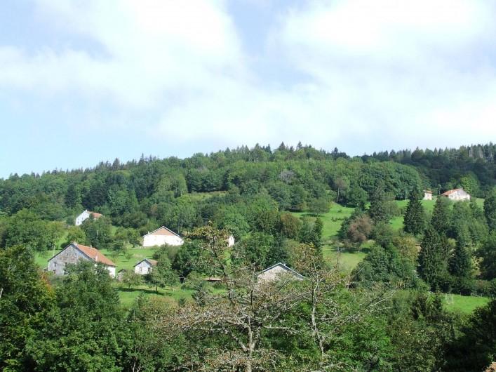 Location de vacances - Maison - Villa à Thiéfosse - Vue depuis la location